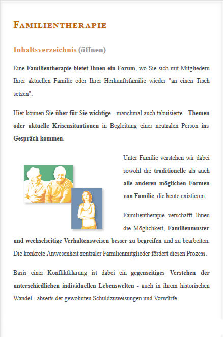 Angebot Familientherapie in Berlin