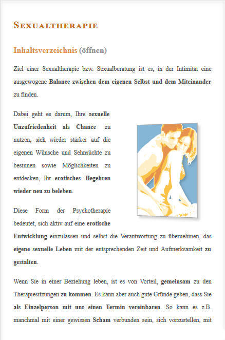 Sexualtherapie in Berlin
